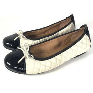 Josef Seibel Quilted Leather Ballet Flats